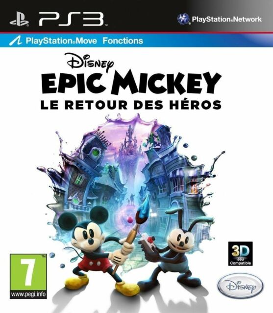 Epic mickey JEU PS3 NEUF