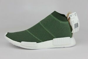 buy popular 6d796 e2b4a Image is loading Adidas-Originals-NMD-CS1-PK-Primeknit-Cargo-Green-