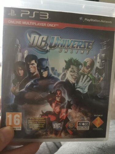 DC Universe Online PlayStation 3 PS3 Game