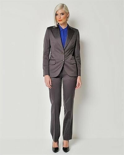 HELMUT HELMUT HELMUT LANG WOMEN SUIT MADE IN ITALY 100% COTTON  SIZE 42 RETAIL  1,650. BR.NEW a0193f