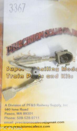 C/&S//CB/&Q Brass Kit Precision Scale HO #3367 Headlight Less Visor