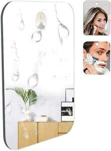 Miroir de Rasage pour Salle Bains et Douche avec en Prime Un Crochet Petit