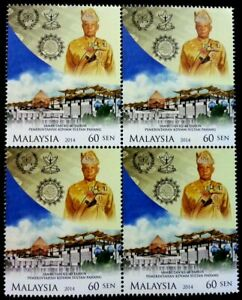 SJ-Celebration-Of-40-Years-Of-Sultan-Pahang-Malaysia-2014-stamp-blk-4-MNH