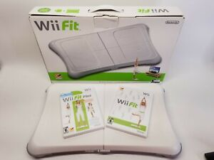 Nintendo Wii Fit Balance Board Bundle with Wii Fit Games Plug in battery pack