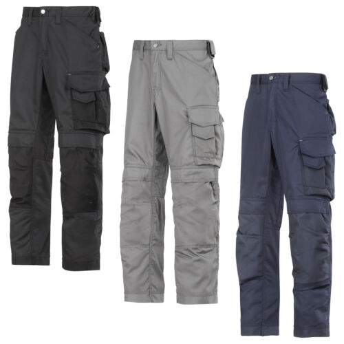 3311 Snickers Craftsmen Work Trousers with Kneepad Pockets CoolTwill