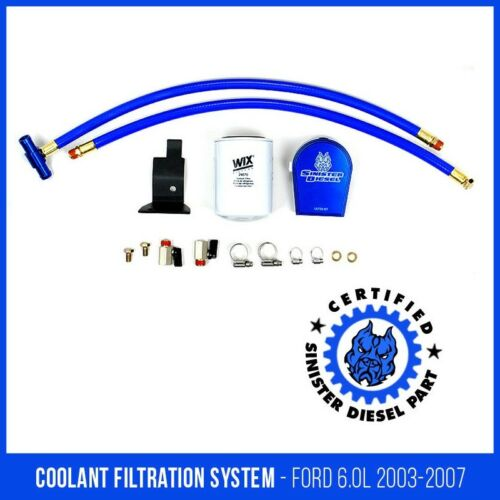 Sinister Diesel Coolant Filtration System for Ford Powerstroke 2003-07 6.0L