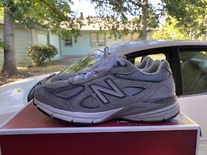 NEW BALANCE 990v4 Grey Sz 7 Women