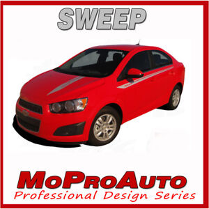 2016 Chevy Sonic Sweep Pro Grade Vinyl Graphics 3m