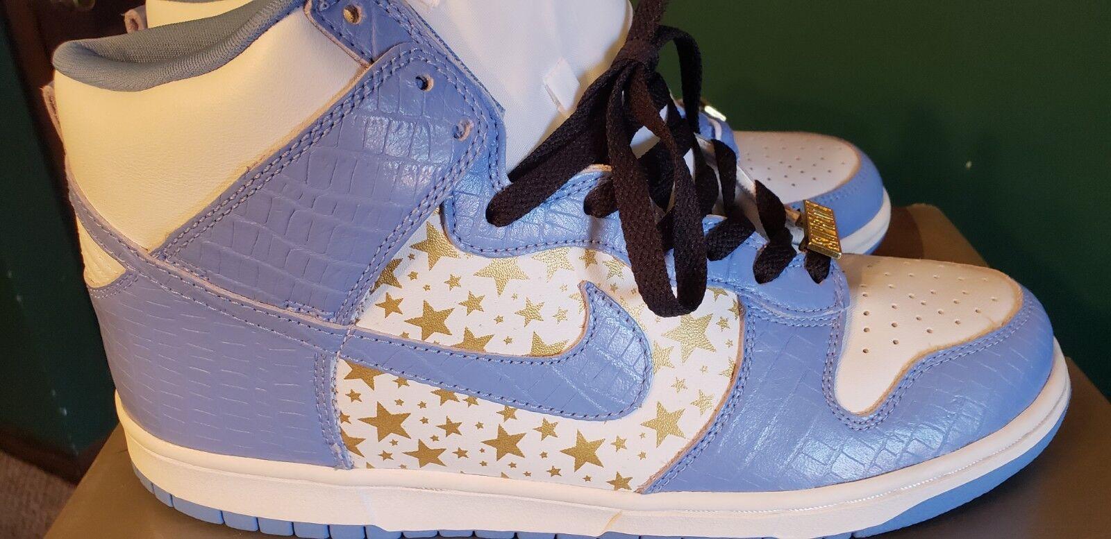 Nike Dunk High SB Supreme bluee 10.5 low pro co.jp