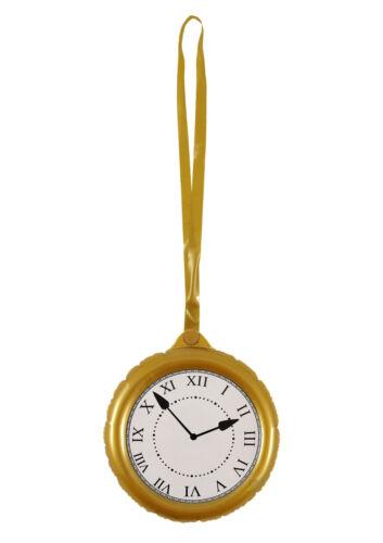 Gonflable Horloge Party Supplies sauter Montre de poche robe fantaisie Alice DECOR 144