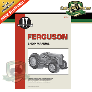 Details about ITFE2 NEW Shop Manual for FERGUSON TE-20, TO-20, TO-30