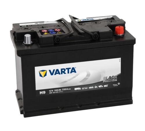 VARTA H9 PROMOTIVE BLACK BATTERY
