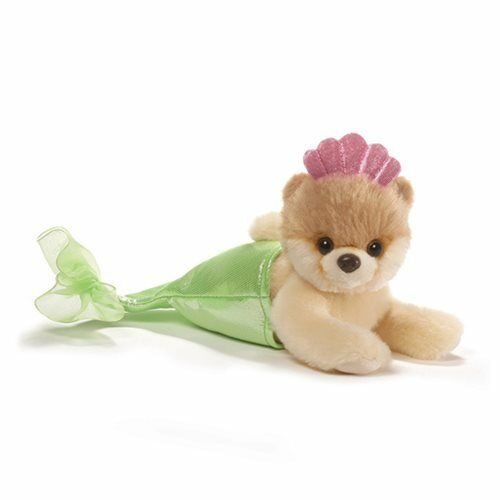 Genuine Gund Itty Bitty Boo 4058946 Mermaid 5in Plush Toy Stuffed