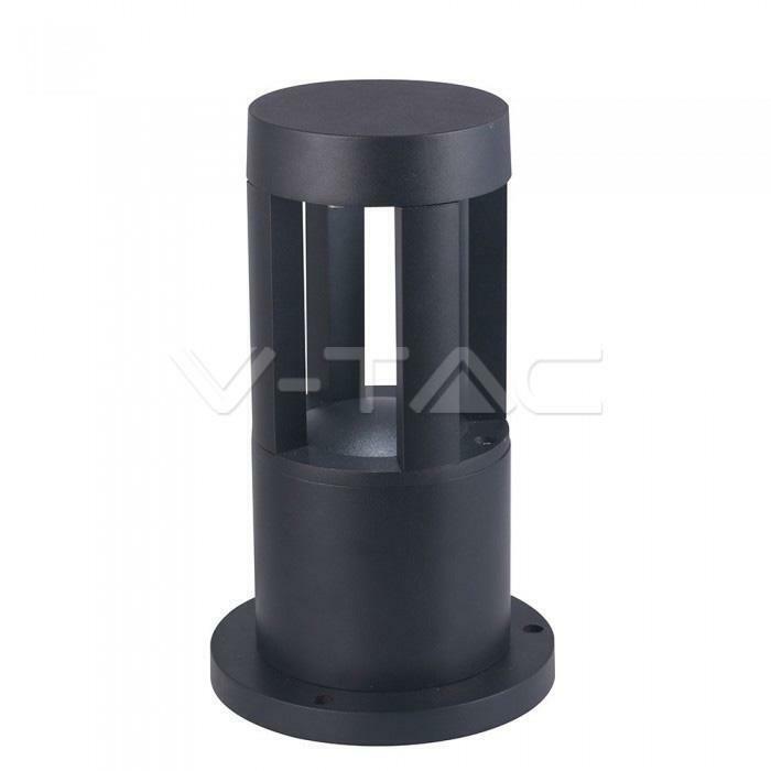 10W LED WALL LIGHT CORPO NERO 25CM HEIGHT 6400K - Fredda - 010296