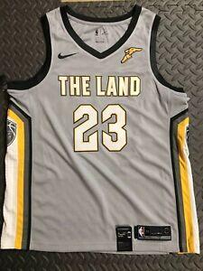 Nike-LeBron-James-034-The-Land-034-Swingman-Cleveland-Cavs-NBA-Jersey-XL-912087-007