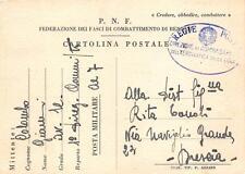 C4170) WW2 LIBIA FRANCHIGIA LOCALE FEDERAZIONE FASCI DI COMBATTIMENTO DI BENGASI