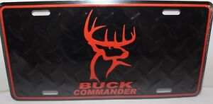 Buck Commander Diamond License Plate Car Truck Tag Duck Dynasty Deer Hunting