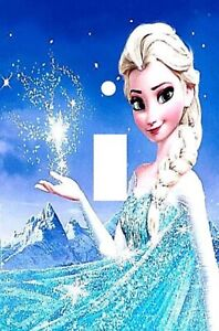 Elsa Frozen Single Toggle Light Switch Cover Decorative Switch Plate Cover