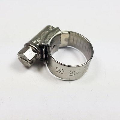 25mm-35mm Stainless Steel Hose Clips Jubilee Clip JCS Hi-Grip Crimp Worm