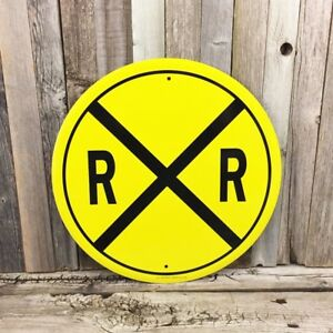 Details about Railroad Rail Road RXR Crossing 12