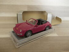NZG model 1/43 - Porsche 911 C2/4 cabriio purper