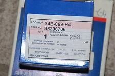 ORIGINAL GM CHEVROLET PLATINE TEMPERATURFÜHLER 96206706 DEAWOO LEGANZA NEU