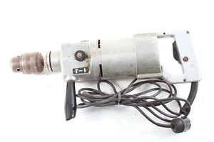 Old-GDR-Electric-Drilling-Machine-Type-SBB-161-Fully-Functional