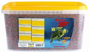 Tropical Biorept W    Nourriture pour reptiles Tortue et Terrapin  sealed Bucket 5l/1,5kg