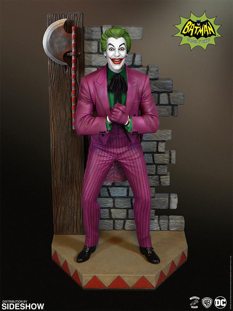 Batman 1966 TV Series The Joker Maquette Maquette Maquette Diorama (Tweeterhead) TWEETERHEAD bd6ef6