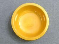 "Vintage Fiesta Yellow 8 1/2"" Nappy Serving Bowl - Fiestaware"