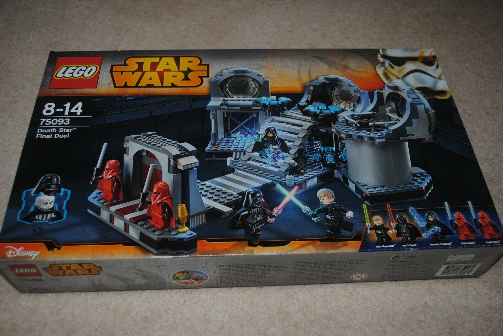 Lego Star Wars Death Star Final Duel 75093 RETIRED SEALED BRAND NEW SEALED BOX