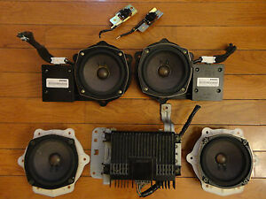 Bose Speakers For Cars >> Details About Bose 7 Piece Car Sound System Powered Speakers Nissan Infiniti Audi Mazda Gmc