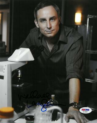 Wallace Langham Signed Csi Authentic Autographed 8x10 Photo Psa/dna #ae34891 Movies