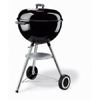 Weber One Touch Silver 18.5 Charcoal Grill Black Samuel Adams