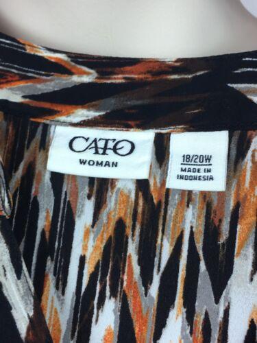 donna down Manicotto Size da button 20w Catenina Plus 3 Camicia Roll Ling Sleeves 18 4 4qx5tw7w