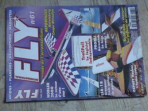 $$4 Revue Fly International N°61 Plan encarte Carbonix  pignons servos  Prodij