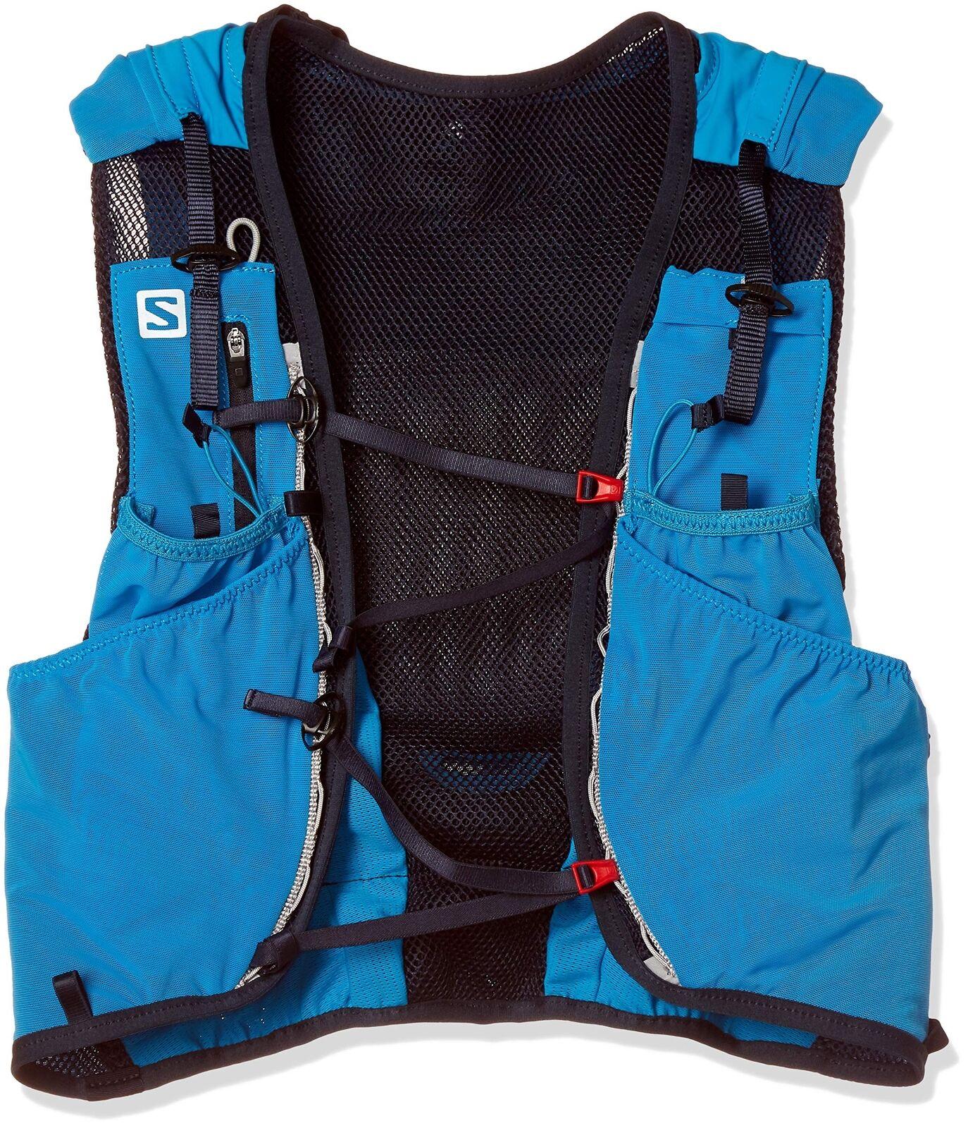 Salomon avanzate di pelle 12 Set leggero Idratazione Pack, 12 LITRI Medium Large