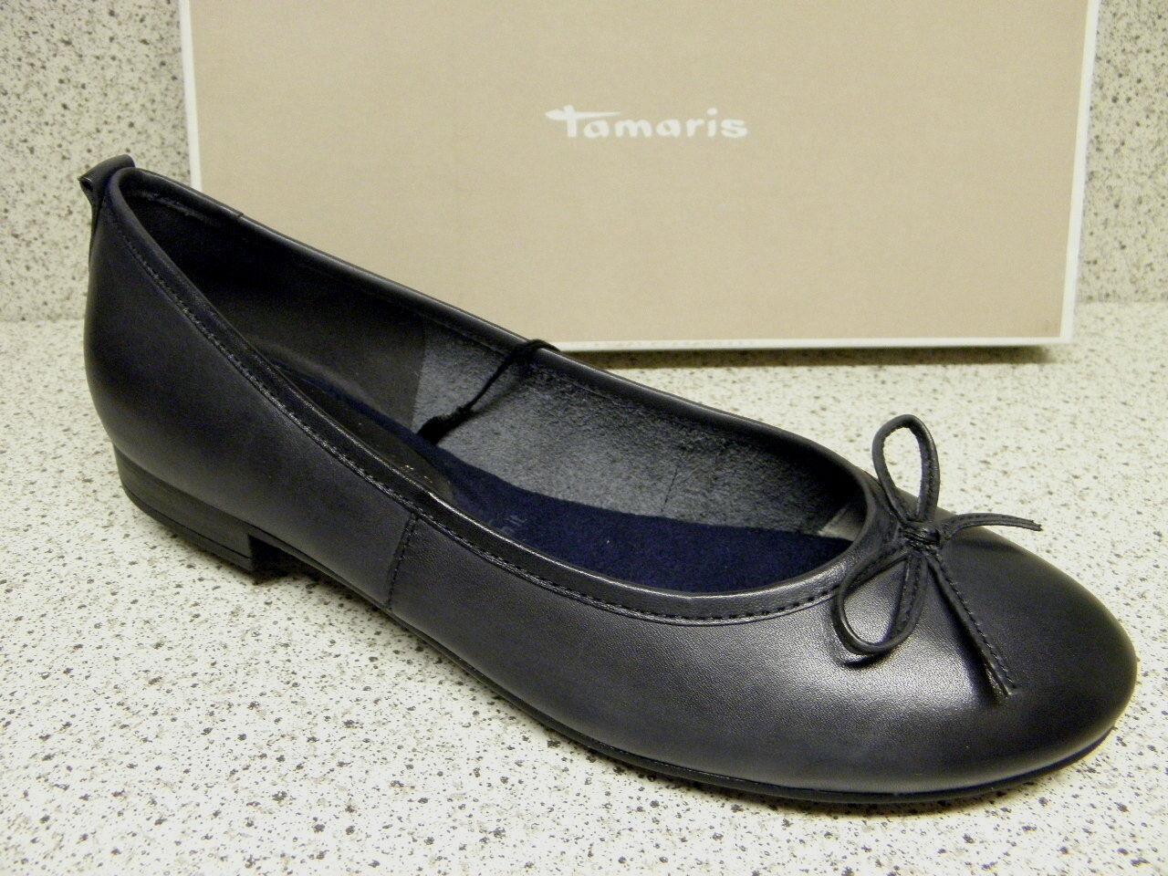 Tamaris ® riduce sale Ballerina in pelle blu (ta41)