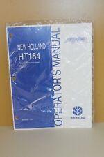 New Holland Wheel Rake Operators Manual Ht154 87015210 New 1202