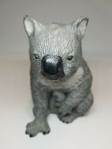 Royal-Heritage-Porcelain-Koala-Bear-Figurine-Hand-Painted-4-1-4-034-Tall-Australian