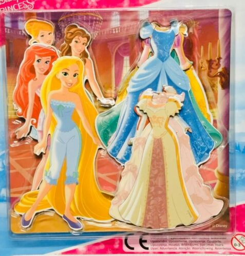 DISNEY PRINCESS magnétique Dress Up Set Pochettes cadeau d/'anniversaire Crafty Girlie UK