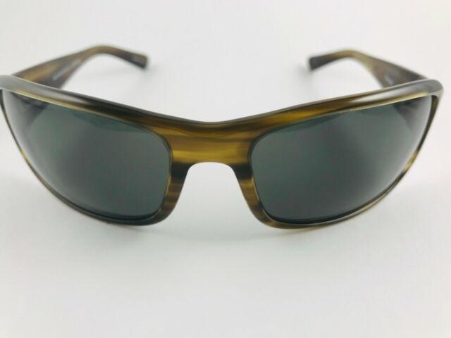 Oliver Peoples Primo BK Sunglasses Black  VFX Polarized 56mm  Breath Logo
