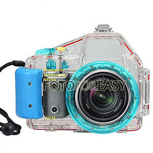 40m waterproof underwater diving dive camera case for sony