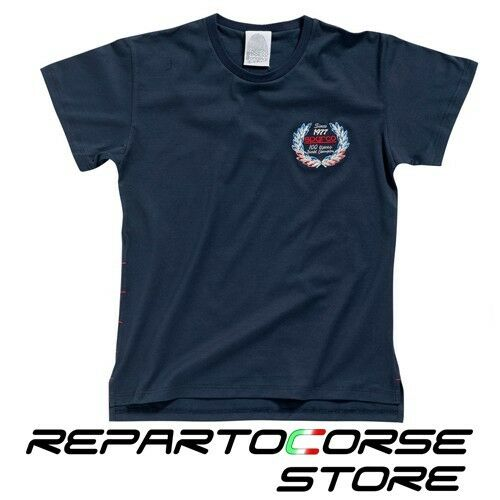 T-SHIRT SPARCO POLO EMBROIDERED - blueE - NEW COLLECTION - T-SHIRT LOGO