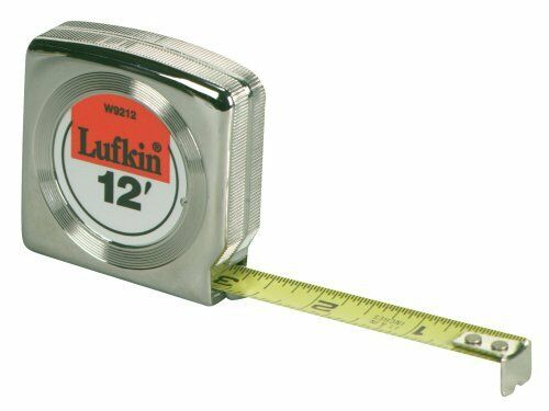 Lufkin 12 Inch X 12 Foot Engineer/'s Power Tape Free Shipping New
