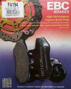 EBC/FA194 Brake Pads (Front) - Aprilia Pegaso 125, RS50, RX50, RX125, Tuono 50