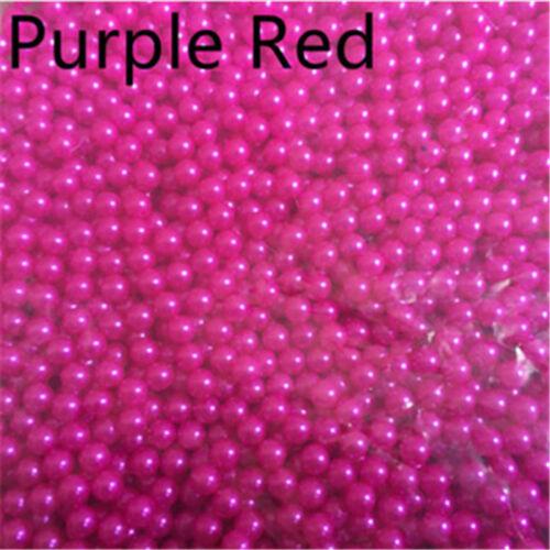No Hole Round  Acrylic Beads DIY Jewelry Making 100-1000pcs 10mm-12mm