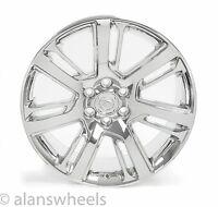 "4 Cadillac Escalade Esv Ext Chrome 22"" Wheels Rims Lugs Free Shipping 4738"