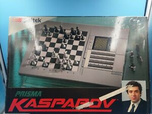 jeu-de-societe-eletronique-saitek-prisma-kasparov-vintage-complet