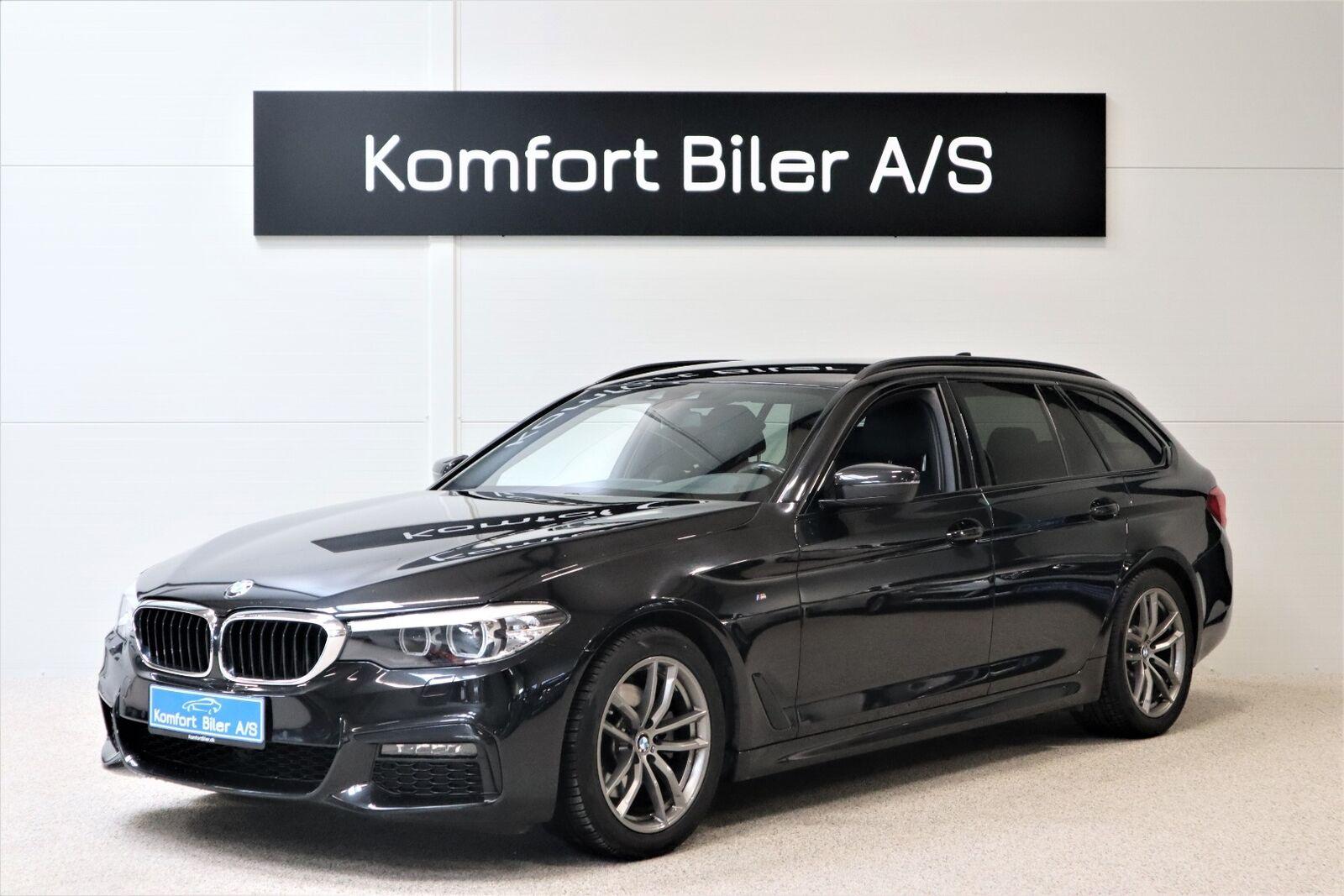 BMW 520i 2,0 Touring M-Sport aut. 5d - 429.900 kr.